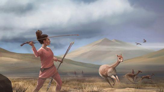 La cacería en la cordillera de los Andes en América del Sur hace 9000 años podría ...