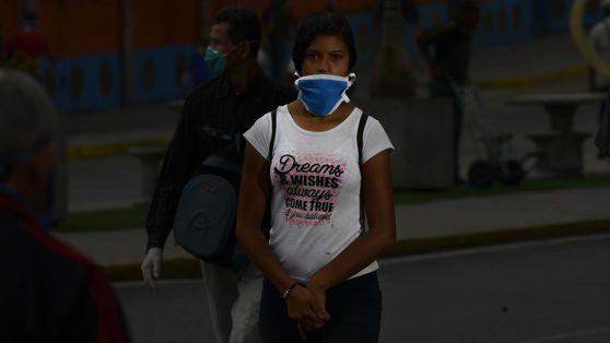 Tiempos de pandemia: el distanciamiento social en Caracas, Venezuela