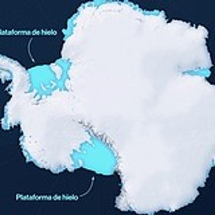 La Antártida se está derritiendo a un ritmo peligroso