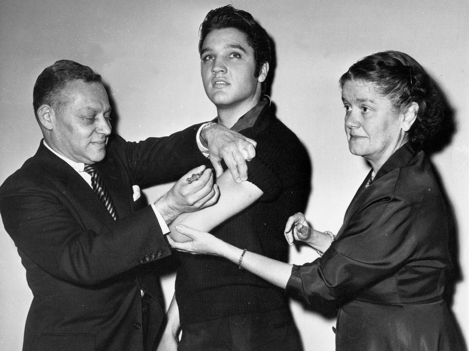 ¿Cómo los jóvenes estadounidenses influyeron en la campaña de vacunación contra la polio en los años ...