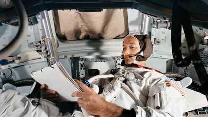 El gran legado de Michael Collins, astronauta y cronista de la misión Apolo 11