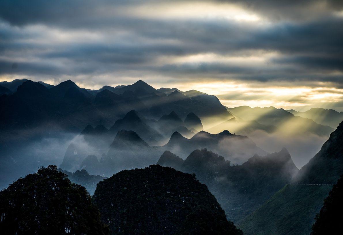 Ha Giang: Above