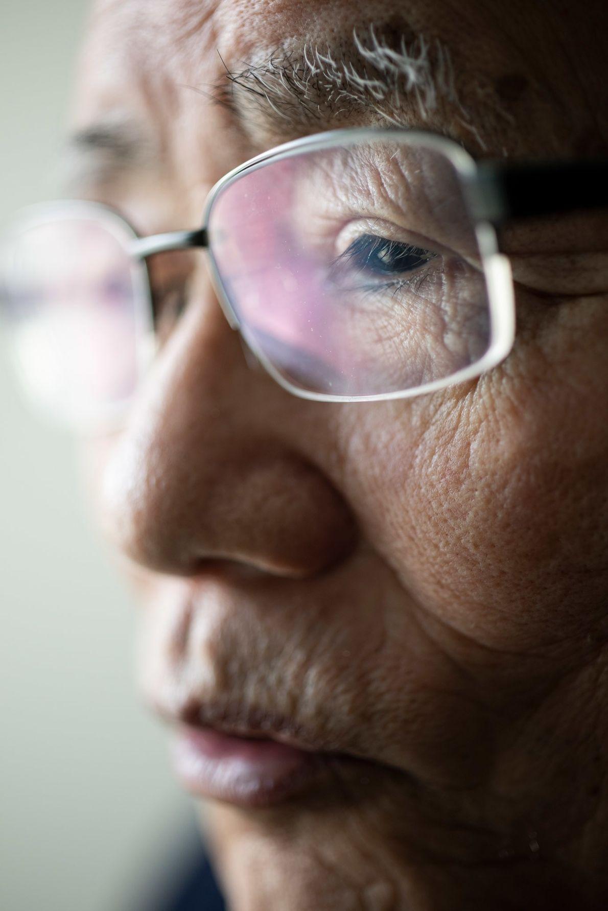 El Dr. Nanao Kamada, profesor emérito de radiobiología en la Universidad de Hiroshima, es uno de ...