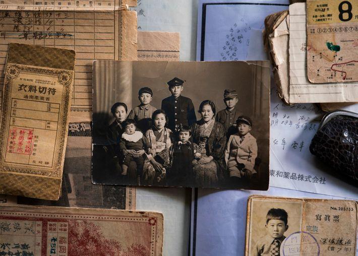 Joji Fukahori, de catorce años, estaba estudiando en su escuela secundaria a casi 3 kilómetros del ...