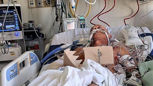 Una caída destrozó su cuerpo. Estas maravillas médicas lo reconstruyeron