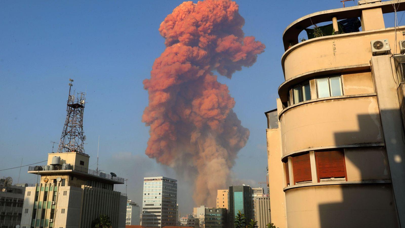 El 4 de agosto, una gran explosión sacudió a Beirut, capital del Líbano. El estallido, que ...
