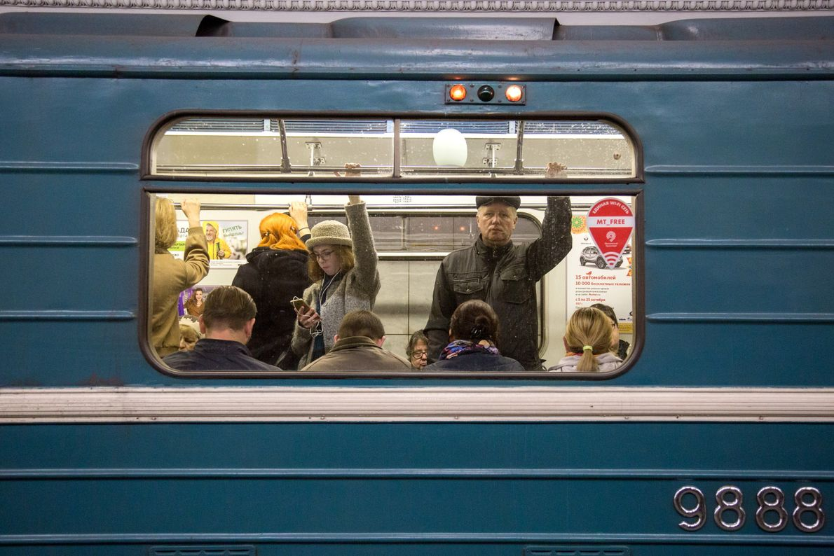Belorusskaya Metro Station
