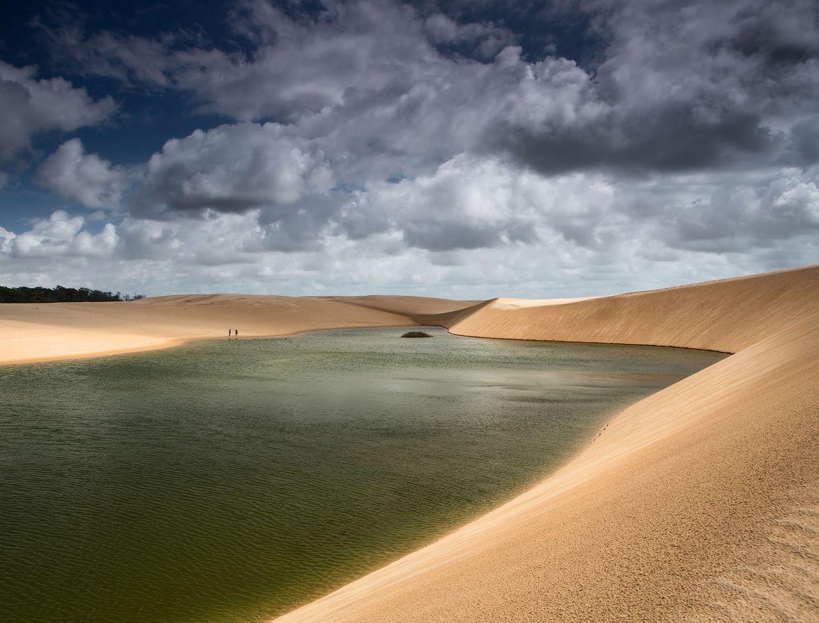 Parque nacional de los Lençóis Maranhenses, Brasil