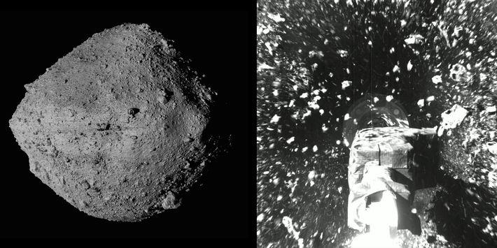 El 20 de octubre, en un audaz juego de tag galáctico, la nave espacial OSIRIS-REx de ...