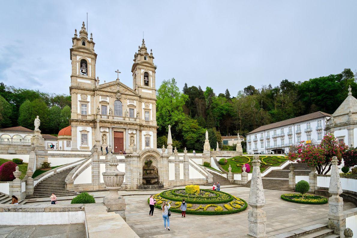 Sanctuary of Bom Jesus do Monte in Braga, Portugal