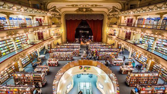 Una librería de Buenos Aires, la más linda del mundo