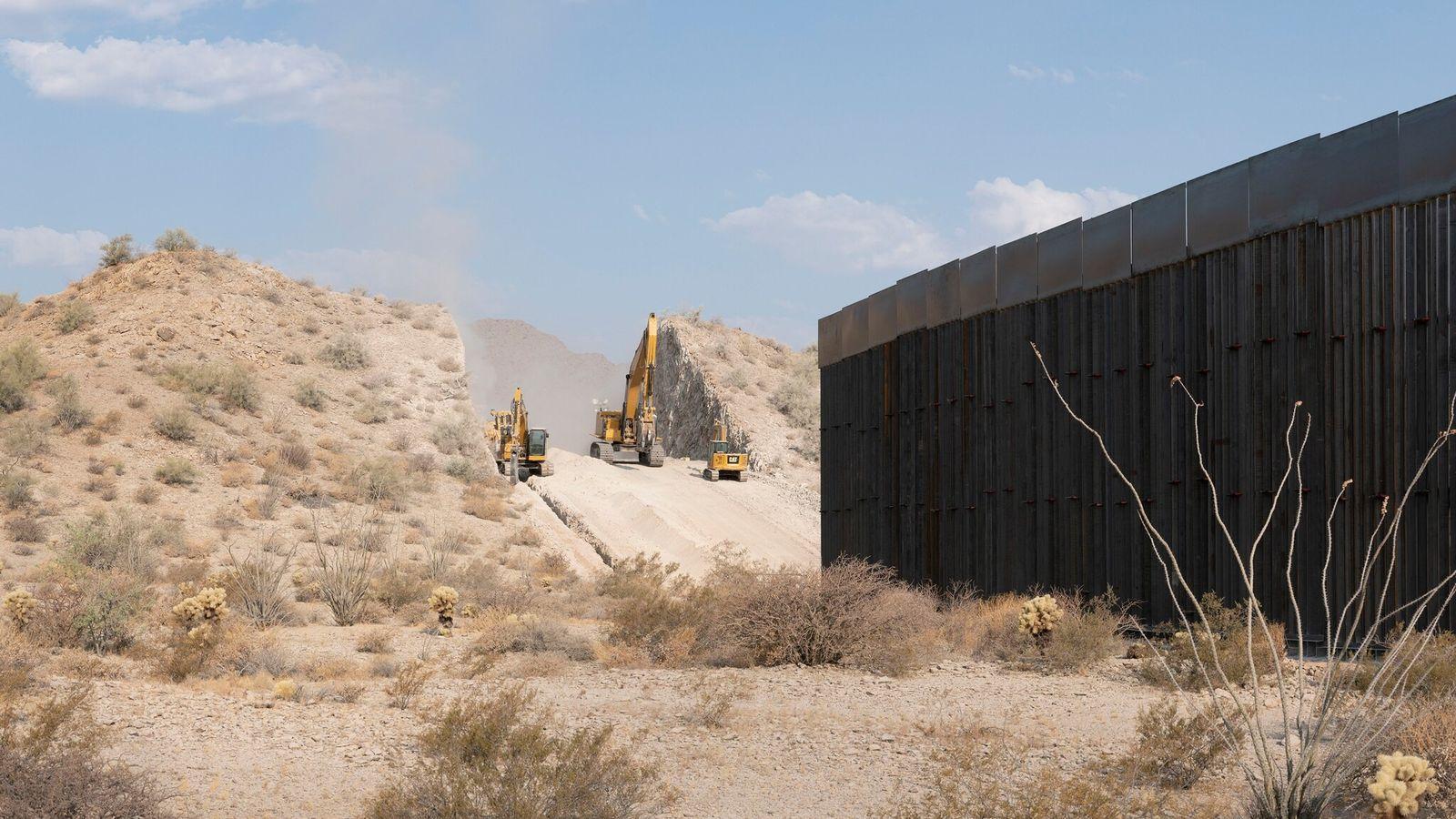 Para construir un muro de nueve metros en el Refugio Nacional de Fauna y Flora de ...