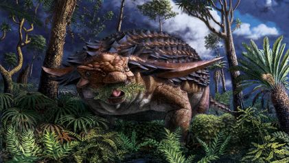 La última comida de este dinosaurio revela asombrosos detalles