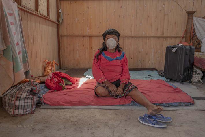 Algunos ancianos de la comunidad fueron enviados a sus comunidades en Ucayali, debido al temor ante ...