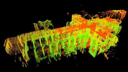 Exploración láser revela los misterios de las catedrales