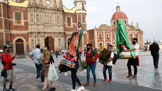 Día de la Virgen de Guadalupe: imágenes de una celebración diferente en el año de la ...