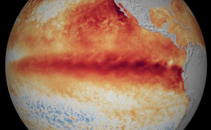 El Niño-Oscilación del Sur (ENOS) es un patrón climático que calienta y enfría el océano Pacífico ...