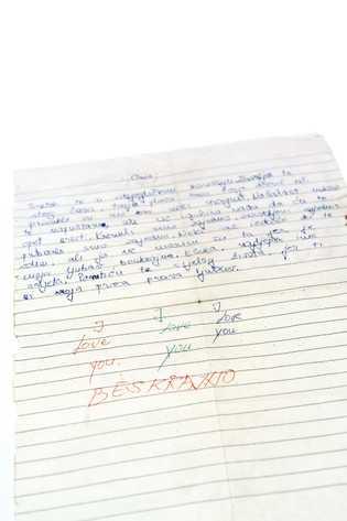 Cuando comenzaba la guerra, un niño de 13 años le escribió esta carta a su primer ...