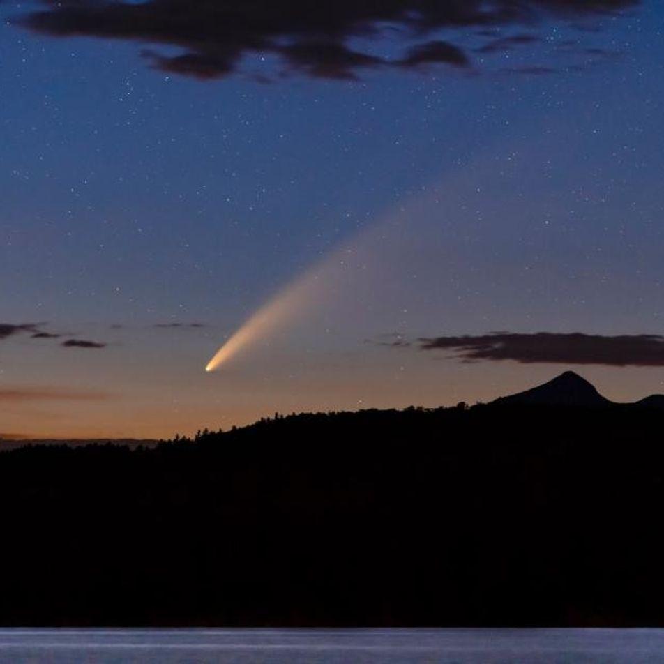 NEOWISE: uno de los cometas más brillantes en décadas está pasando por la Tierra