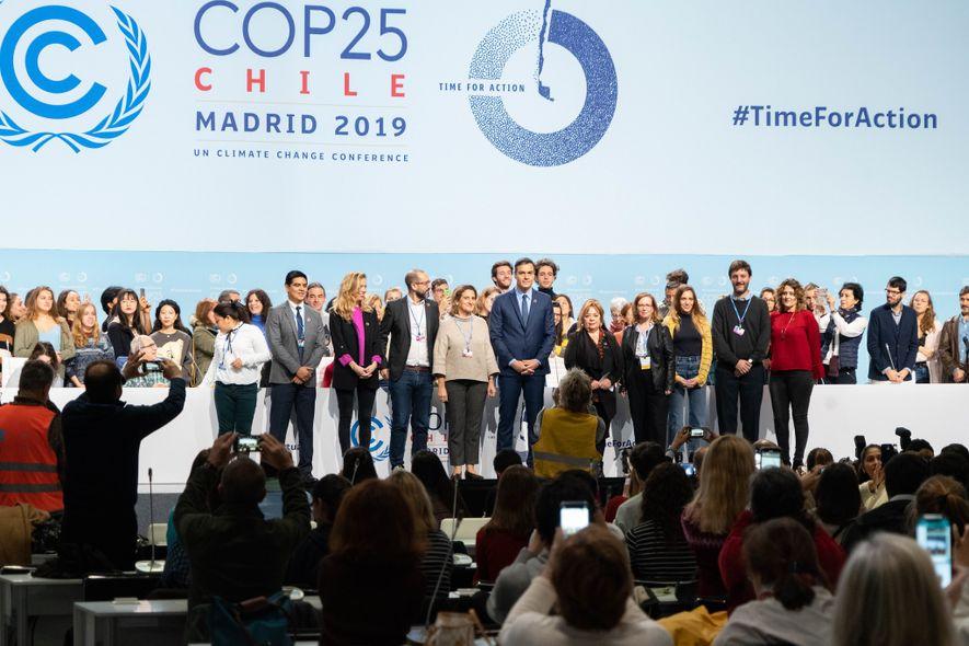 Bienvenida a los voluntarios y participantes de la COP25