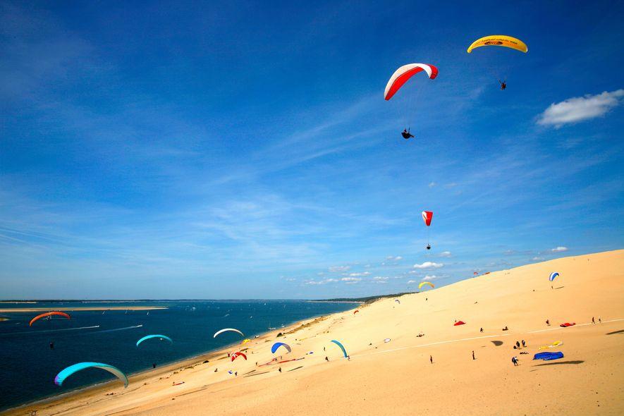 Playa de Corniche, La Teste-De-Buch, Francia