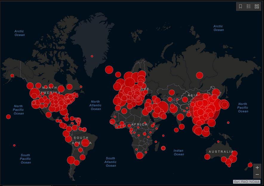 El COVID-19 fue declarado pandemia y América Latina lanza medidas de contención