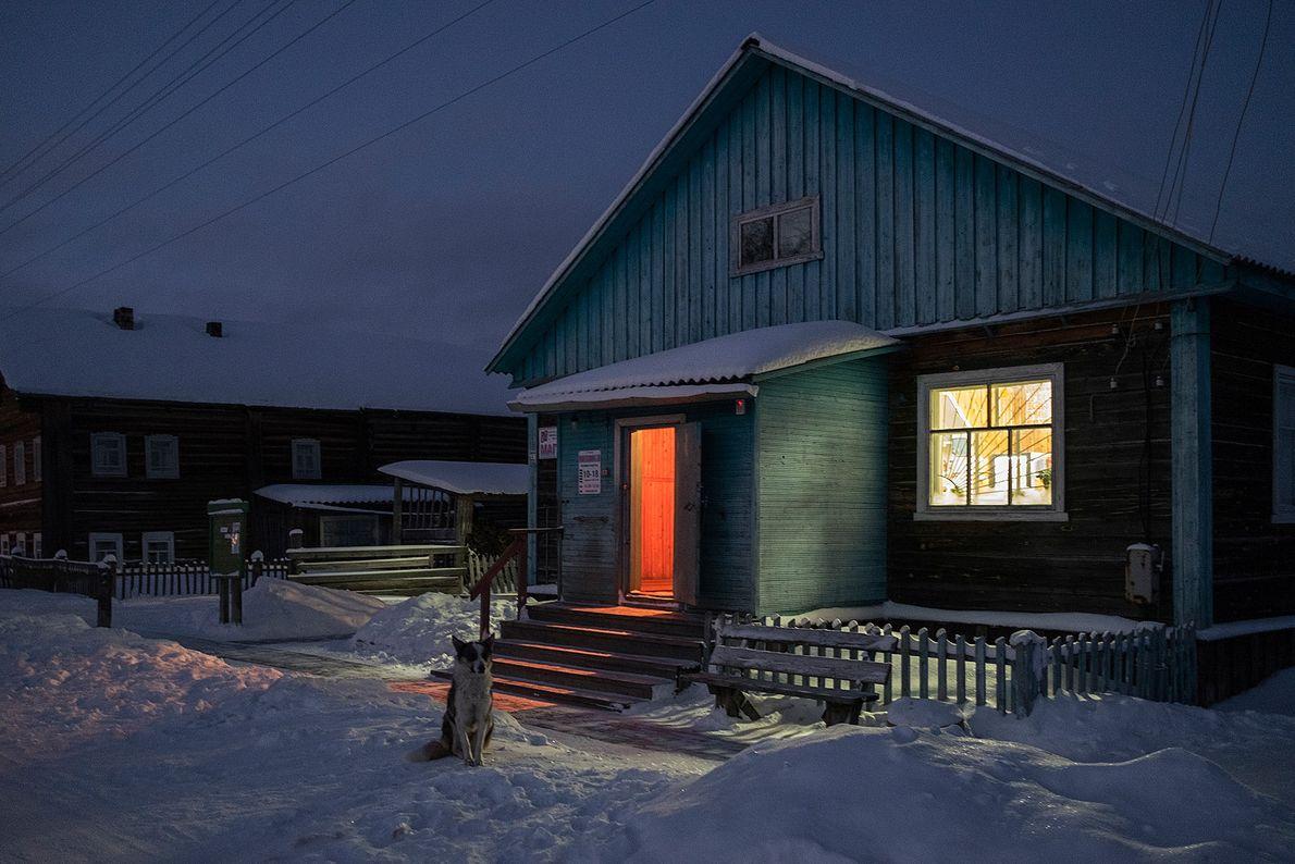 Aproximadamente 150 personas viven en Sovpolie. En el invierno, la mayoría de las personas se desplaza ...