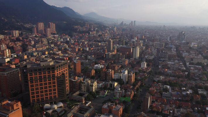 Coronavirus: Así se veían las calles de Bogotá, Colombia, durante la cuarentena