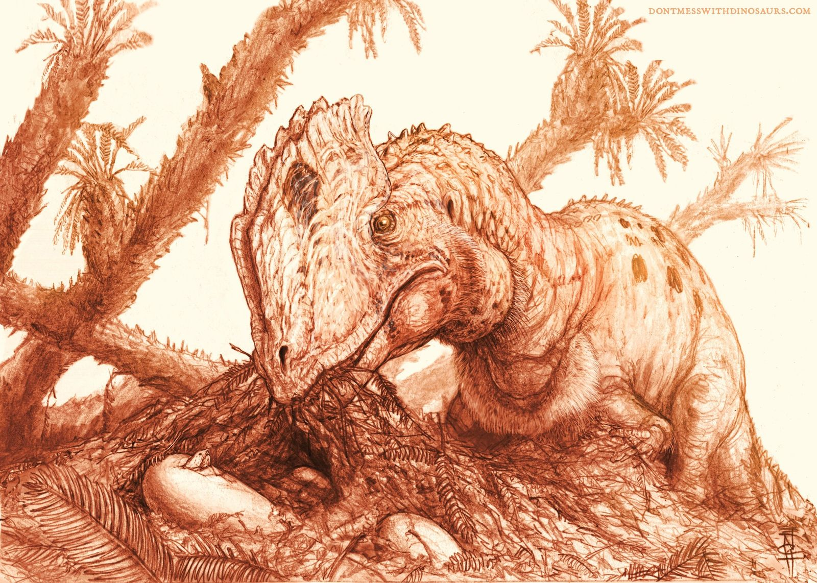 """Jurassic Park"" no representa correctamente al Dilophosaurus"