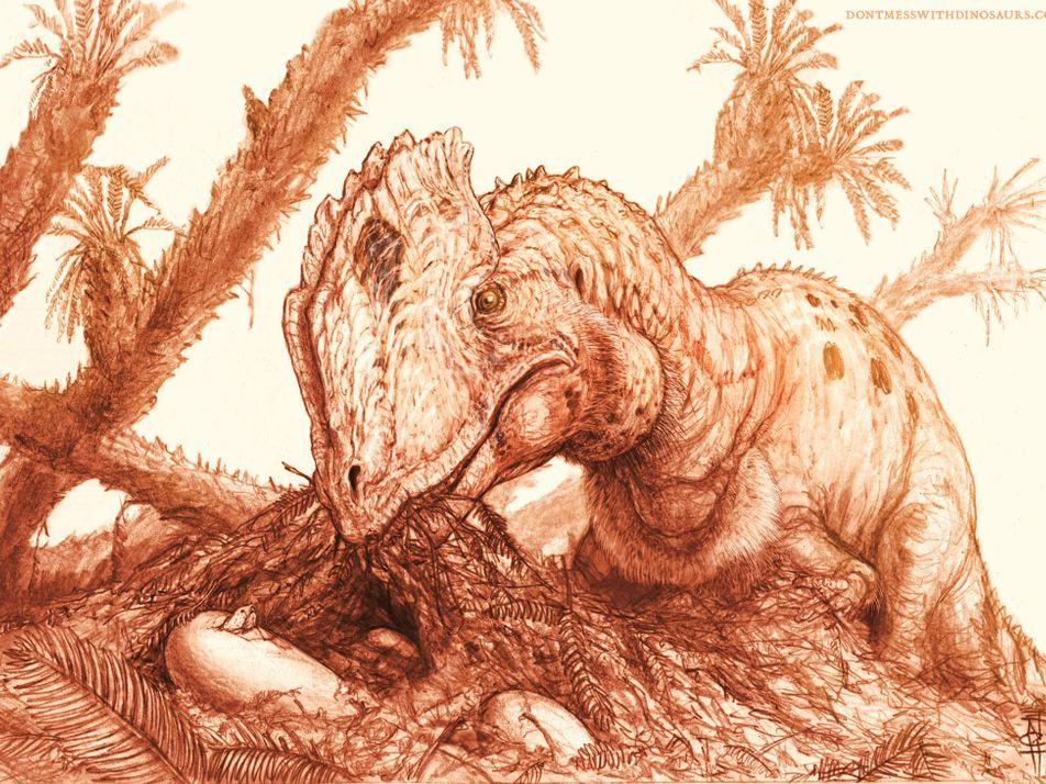 """Jurassic Park"" no refleja correctamente al icónico dinosaurio crestado"