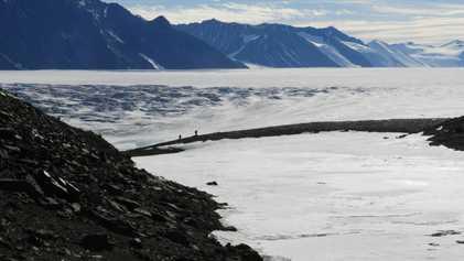 Antártida: hallan suelos que parecen no contener vida
