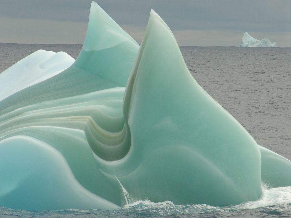 ¿Por qué algunos icebergs pueden ser de color verde?