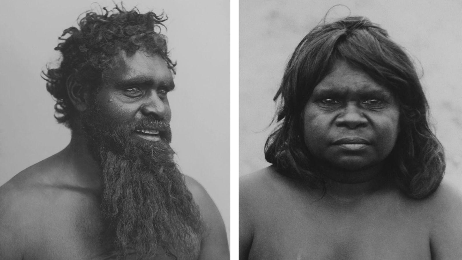 En un artículo completo sobre Australia que se publicó en 1916, los aborígenes australianos fueron llamados ...