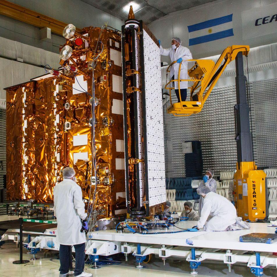 SAOCOM 1B: Nuevo satélite argentino se prepara para ser lanzado al espacio