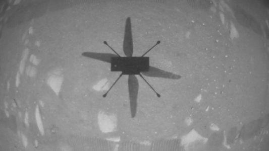 El helicóptero de la NASA en Marte hace historia como el primer vehículo en volar sobre ...