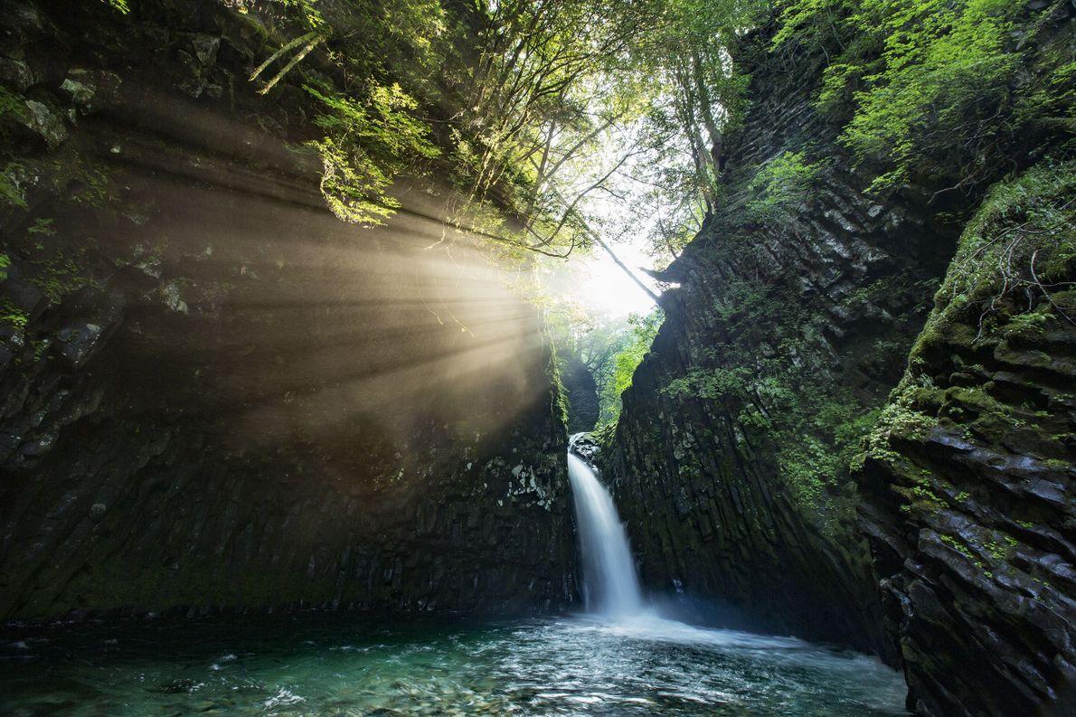 Cascada tranquila