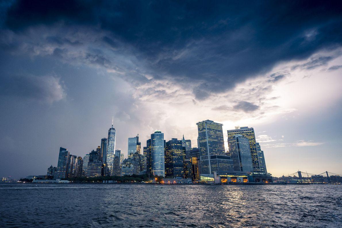 Ciudad tormentosa