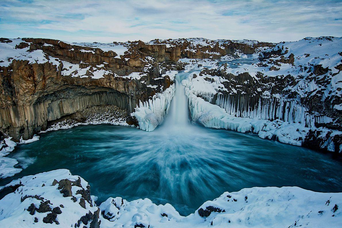 Cascadas congeladas