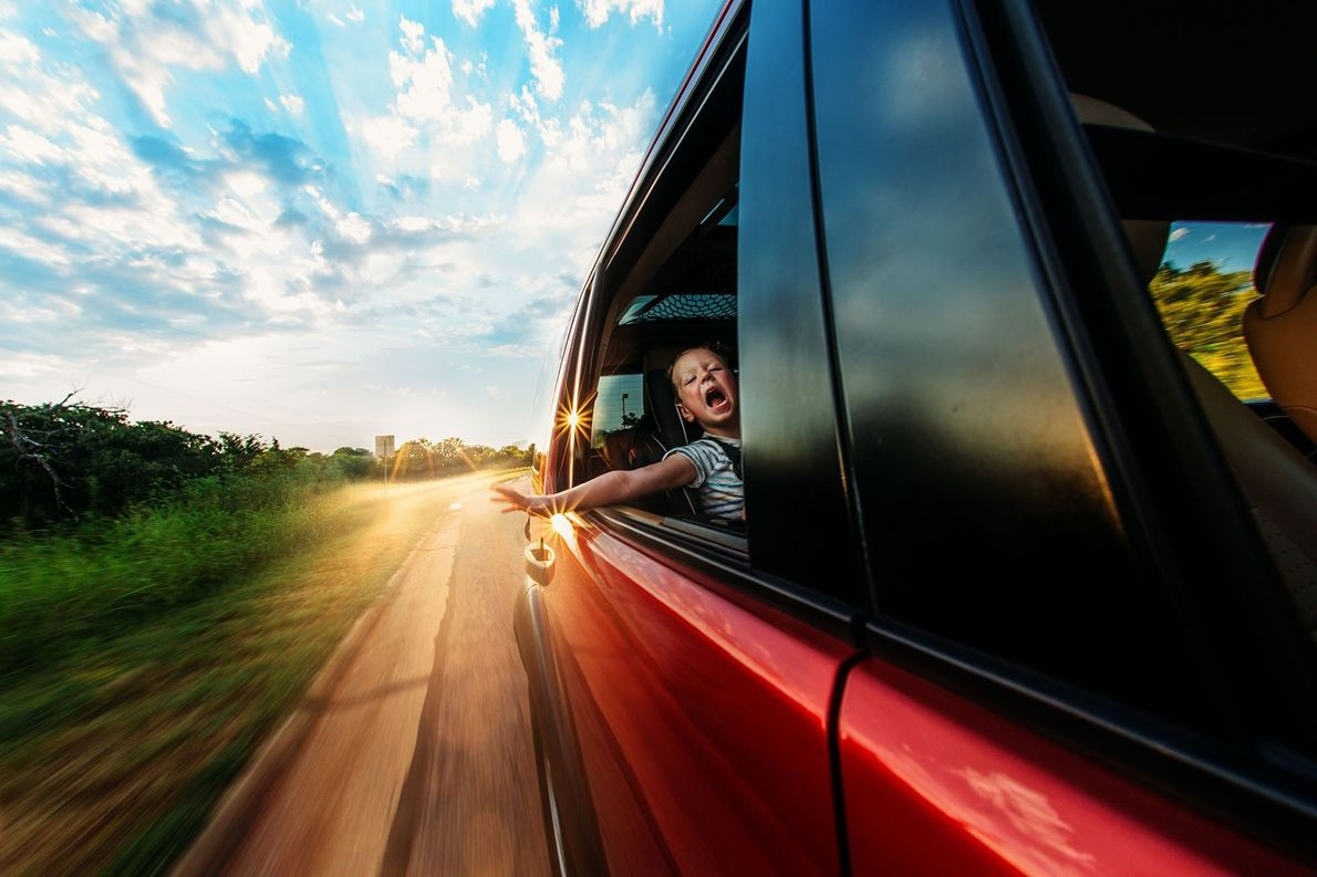 Paseo en auto