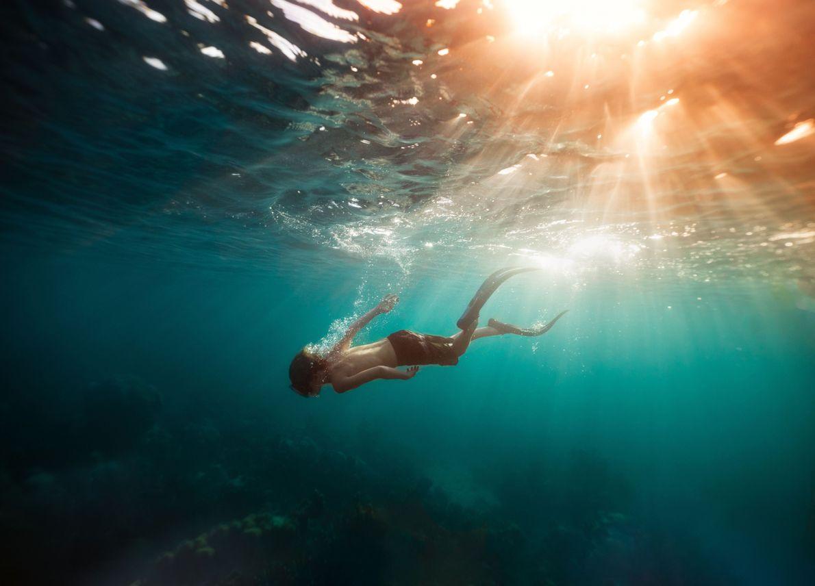 Profunda pasión por el mar