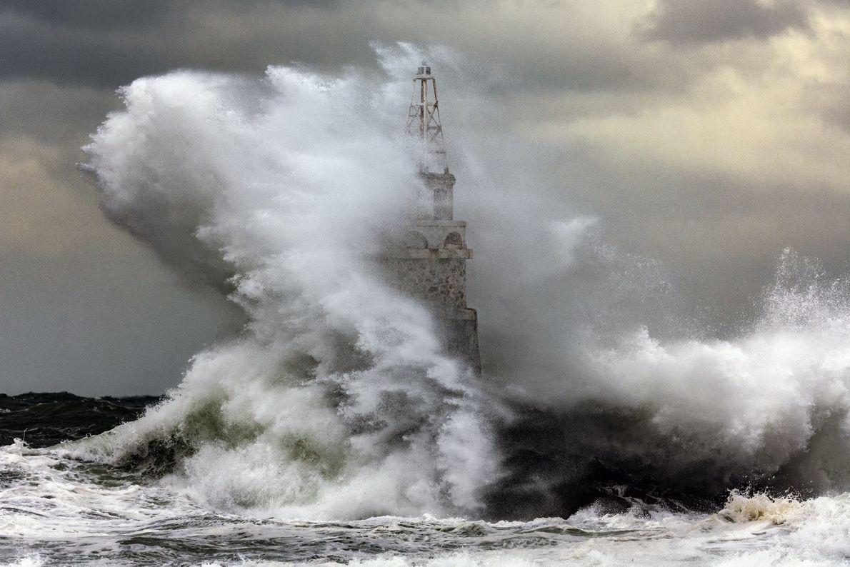 Océano furioso