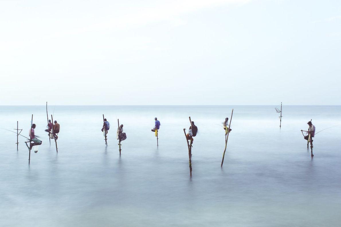 Pesca en zancos