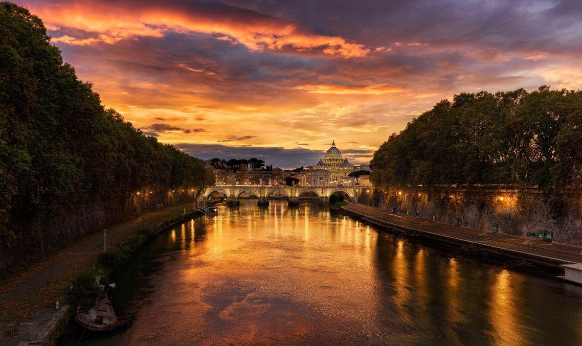 Una vista del Vaticano