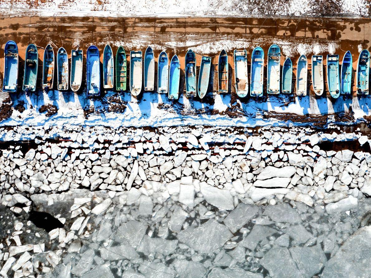 Frozen Sea in Hokkaido