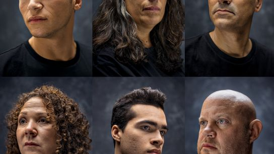 Se analizó el ADN de estas seis personas con el kit de ascendencia basado Geno 2.0 ...