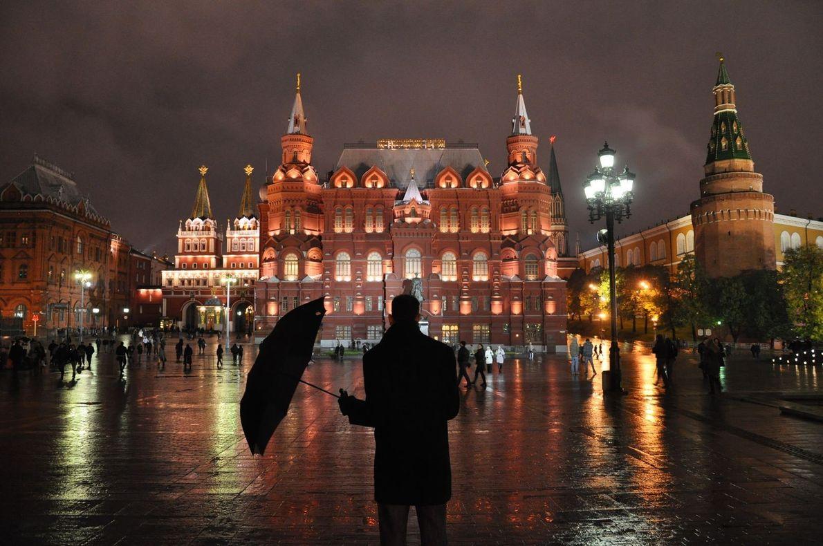 MONUMENTO GEORGY ZHUKOV EN MOSCÚ