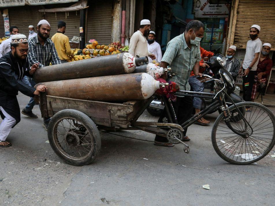 La crisis de la India demuestra cómo el oxígeno es un tratamiento vital al que no ...
