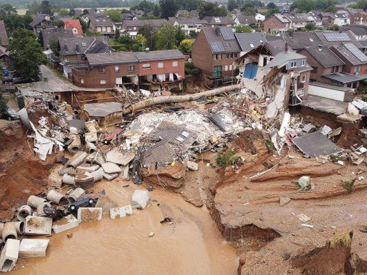 Las devastadoras inundaciones en Alemania podrían ser una muestra de cómo será el clima en el ...