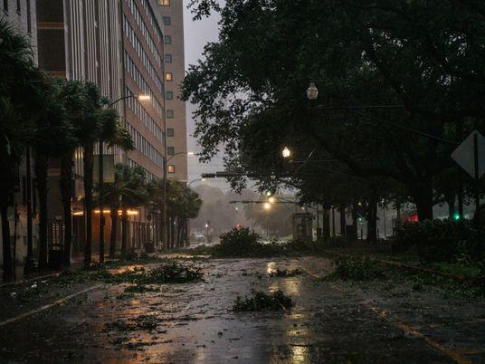 El huracán Ida golpea a Luisiana: impactantes imágenes