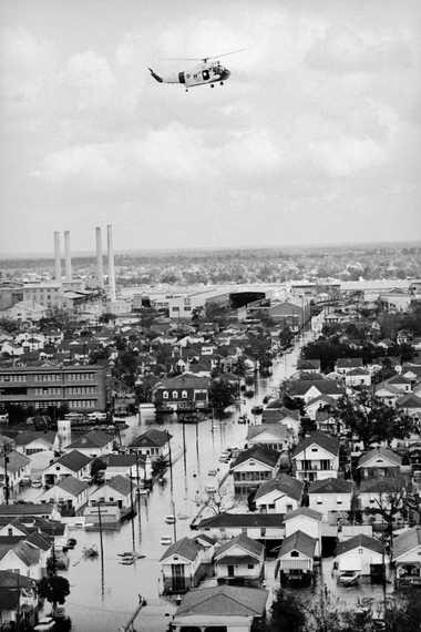 El huracán Betsey azotó Nueva Orleans en 1965, causando inmensos daños e inundando partes de la ...